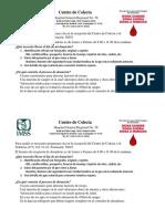 Requisitos Para Donar Sangre - HGR 58