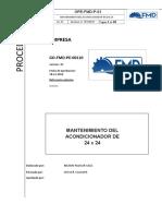Procedimiento Especifico Mantenimiento Del Acondicionador 24 x 24