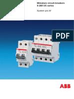 Miniature Circuit Breaker S280