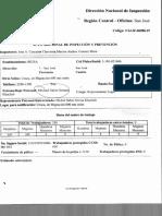 Acta Adicional de Inspección y Prevención del MTSS