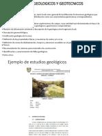 Estudios Geologicos y Geotecnicos