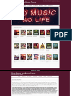 Java, JSP and MySQL Project on Music Review and Rating Portal Screens Screens