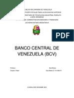 Banco Centralde Venezuela