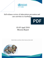 Self-reliance Review of Tuberculosis Prevention Andcare Activities in Azerbaijan