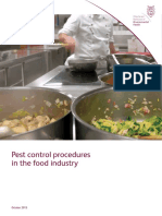 Pc10 - CIEH,Pest Control Procedures in the Food Industry,2015