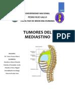 Tumores Del Mediastino Final