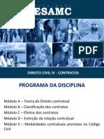 Material de Apoio_Direito Civil IV - Contratos