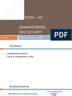 S20L7 Authentication Types in DB2