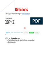 basic nearpod instructions