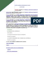 Ley Del Procedimiento Administrativo General 27444