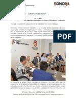 07-11-19 Coordinan esfuerzos en seguridad autoridades de Sonora, Chihuahua y Federación.
