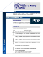 Credit Rating SR Methodology 20September2016 Public