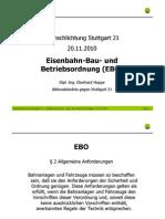 Stuttgart 21 Schlichtung - [6] 2010-11-20 - Eberhard Happe