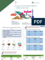 Resultados de la Actividad Turística de Enero del 2018 y 2019