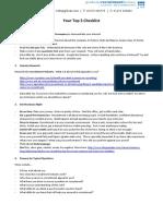Recruitment Top 5 Checklist