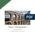 Trabajo Romanización