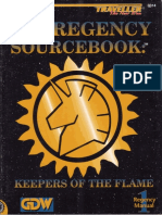 Traveller - TNE - Regency Sourcebook