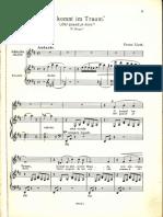 Liszt - Oh, Quand Je Dors - Medium Voice - REM