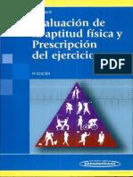 Evaluación de la aptitud Física y Prescripción del Ejercicio 5°Ed. 2006 - Heyward