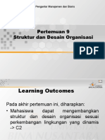 09 Struktur Dan Desain Organisasi