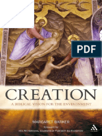 Margaret Barker, Patriarch Bartholomew-Creation_ a Biblical Vision for the Environment-T&T Clark (2010)