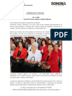 05-11-19 Promueve DIF Sonora empleo a Adultos Mayores