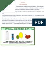 MEZCLAS ALCALINOS