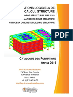Formations Logiciels de Calcul Structure