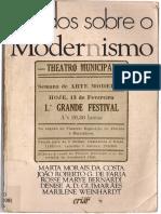 COSTA, Marta Morais_O Modernismo de Mario de Andrade