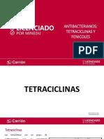 Antibacterianos, Tetraciclinas y Fenicoles