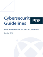 Cybersecurity Guidelines Oct 2018