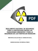 Decreto_10754_00_Reglamento Nacional de Seguridad Para La Proteccion Con Las Radiaciones Ionizantes y Para La Seguridad de Las Fuentes de Radiacion