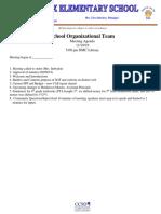 SOT Mtg Agenda 11-19-19