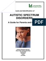 Autistic Spectrum Disorders - A Guide for Parents