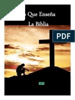 BBN Lo Que Enseña La Biblia