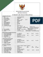 5 Formulir Isian Pegawai Winiyarti A. Ma. Pd