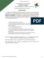 Inscripción en Linea UCLA (Fase I)