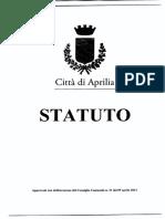 Statuto Comune Di Aprilia