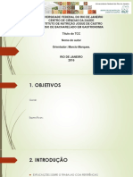 Modelo Geral de Apresentação Do Tcc