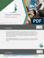 Manual ZaraRadio Orientado Al Productor
