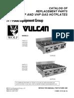 Cocina Vulcan 4 y Hornillas
