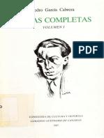 Obras_completas_1 Pedro Garcia Cabrera