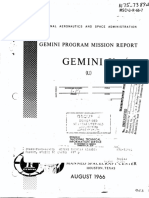 Gemini Program Mission Report, Gemini 10