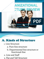 Organizational Structure Review