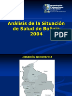 SITUACIÓN SALUD EN BOLIVIA
