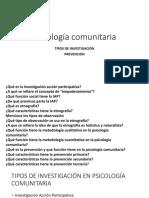 Psicología comunitaria 2