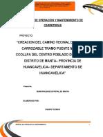12.1 Manual de Operacion y Mantenimiento