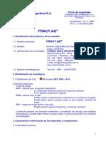 FICHA FRACT AG