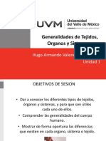 Generalidades de Tejidos Organos y Sistemas