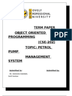 Petrol Pump Management